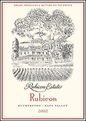 Rubicon Estate Napa Valley