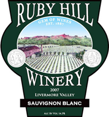 Ruby Hill Winery-SauvignonBlanc