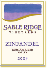 Sable Ridge Vineyards-Zinfandel