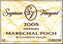 Saginaw Vineyards-Marechal Foch