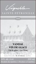 Vignoble de Ste. Petronille-Vin Glace