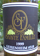 Sainte Famille Wines