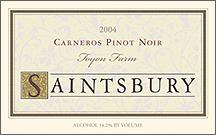 Saintsbury Carneros Toyon Pinot Noir