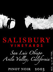 Salisbury Vineyards - Pinot Noir