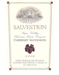 Salvestrin Vineyards-Cabernet Sauvignon