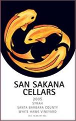 San Sakana Cellars-Syrah