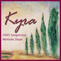 Kyra Wines-Sangiovese