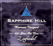 Sapphire Hill Vineyards-Zinfandel