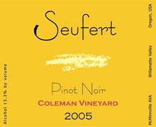 Seufert Winery-Pinot Noir