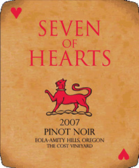 Seven of Hearts-Pinot Noir