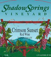 Shadow Springs Vineyard-Crimson Sunset