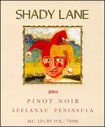Shady Lane Cellars - Leelanau Peninsula Pinot Noir