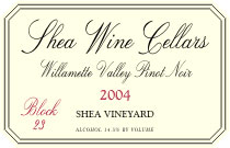 Shea Wine Cellars-Pinot Noir