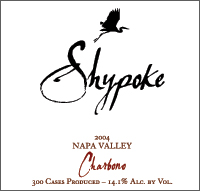 Shypoke Napa Valley Charbono