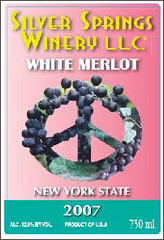 Silver Springs Winery-White Merlot