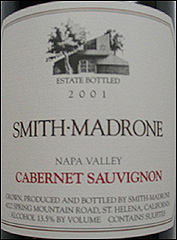Smith-Madrone Vineyards & Winery - Napa Valley Cabernet