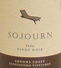 Sojourn Cellars-Pinot Noir
