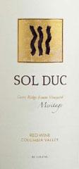 Sol Duc Wines-Meritage