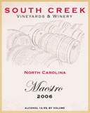 South Creek Vineyards and Winery-Maestro