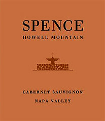 Spence Howell Mountain Cabernet Sauvignon