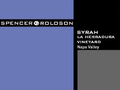 Spencer-Roloson Syrah