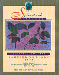 Spicewood Vineyards Sauvignon Blanc