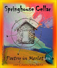 Springhouse Cellar Winery-Merlotion