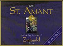 St. Amant Winery Zinfandel