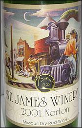 St. James Winery, Missouri Norton