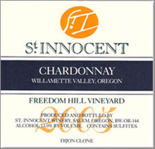 St. Innocent Winery-Chardonnay