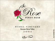 St. Rose Winery-Pinot Noir
