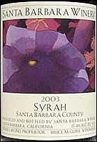 Santa Barbara Winery Syrah