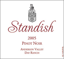 Standish Anderson Valley Pinot Noir