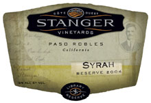 Stanger Vineyards-Syrah