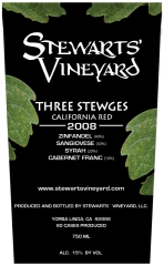 Stewarts Vineyard  Three Stewges