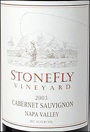 StoneFly Vineyards - Napa Valley Cabernet Sauvignon