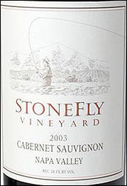 StoneFly Vineyards - Napa Valley Cabernet Sauvignon