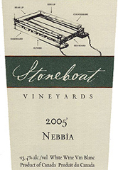 Stoneboat Vineyards Nebbia