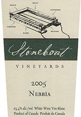 Stoneboat Vineyards Nebbia