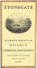 Stonegate Winery-Cabernet Sauvignon