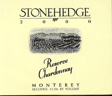 Stonehedge - Chardonnay