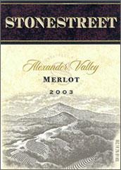 Stonestreet Winery-Merlot