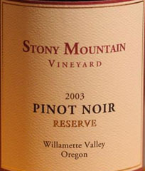 Stony Mountain Vineyard