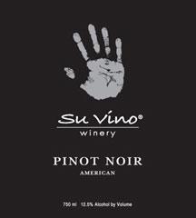 Su Vino Winery (TX)-Pinot Noir