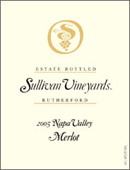 Sullivan Vineyards Merlot