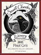 Sweet Cheeks Winery-Pinot Gris