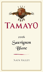 Tamayo Family Vineyard Sauvignon Blanc Label