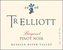 TR Elliott - Burgonet Pinot Noir