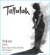 Tallulah Wines-Syrah