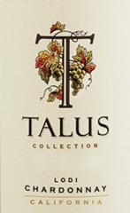 Talus Cellars-Chardonnay